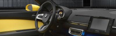 Photo du concept-car Skoda Joyster Concept. : design Intérieur